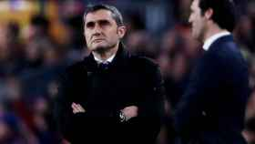 Valverde, durante un momento del partido