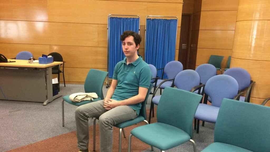 Francisco Nicolás Gómez Iglesias durante su juicio por calumnias al CNI, del que salió absuelto.