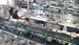 Uno de los laboratorios de investigación de la Universidad Miguel Hernández