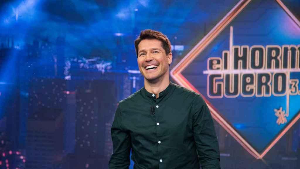 Jaime Cantizano durante su paso por 'El Hormiguero'
