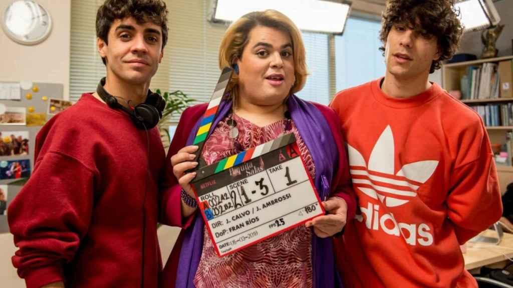 'Paquita Salas', una de las producciones españolas de Netflix.