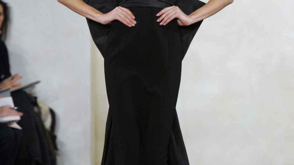 Una modelo de Ralph Lauren.