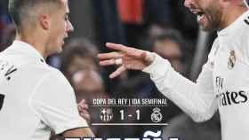 La portada de El Bernabéu (07/02/2019)