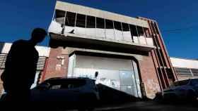 Nave industrial abandonada donde violaron a la joven de 18 años en Sabadell.