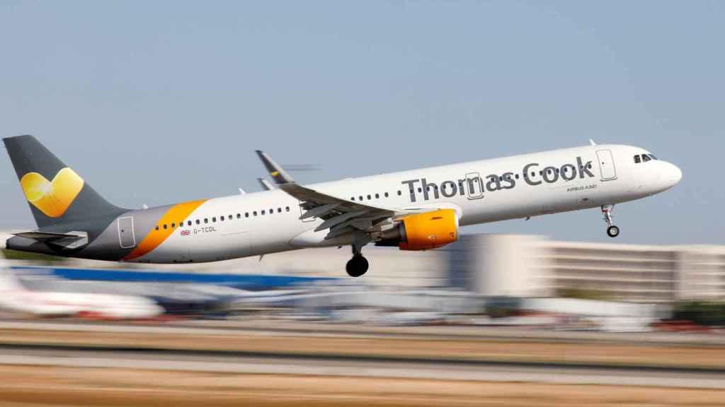 Un avión de Thomas Cook en una imagen de archivo.