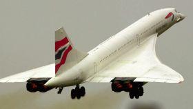Imagen del Concorde.
