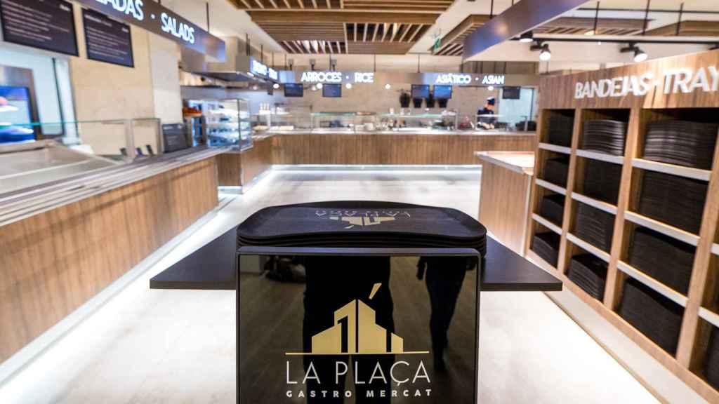 La Plaça Gastro Mercat de El Corte Inglés de Alicante.