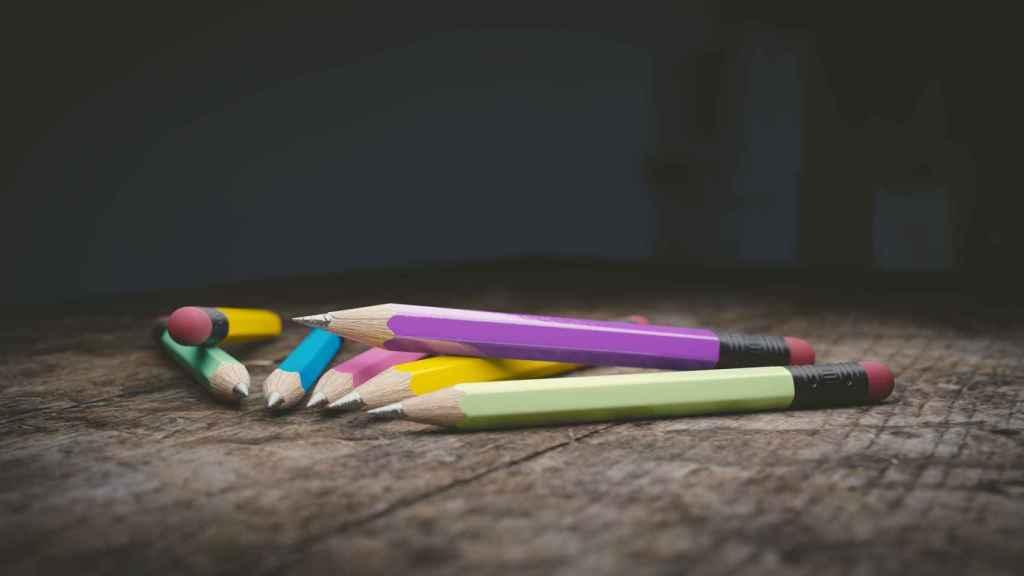 Utiliza lápices de colores para dibujar tu vida