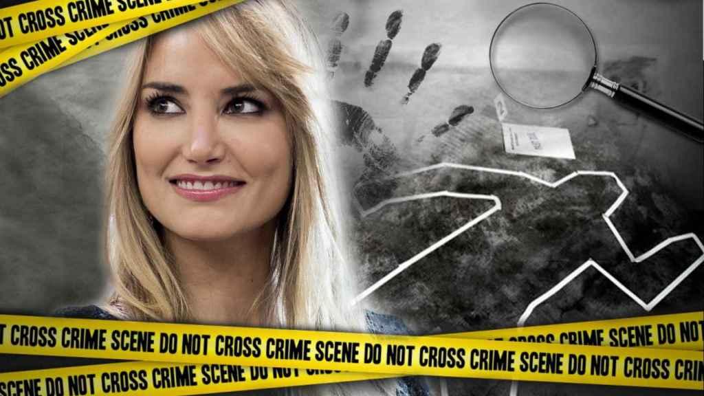 Alba Carrillo ya es estudiante de Criminología   en un montaje de Jaleos.