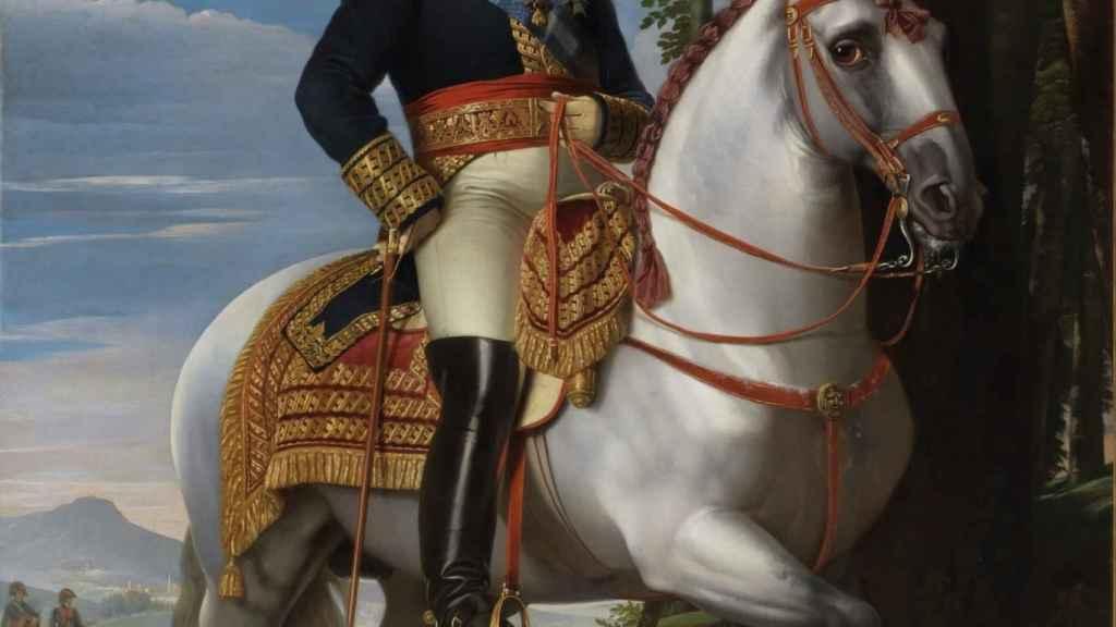 'Fernando VII, a caballo', de José de Madrazo.