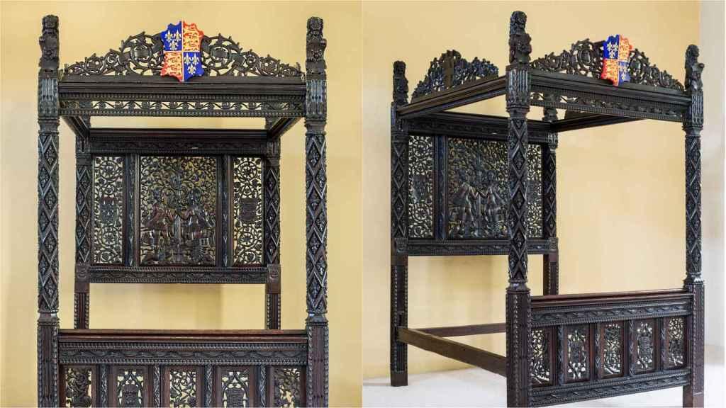 La cama de Enrique VII e Isabel de York