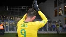 El dorsal de Sala con el Nantes. Foto Twitter:(@FCNantes)