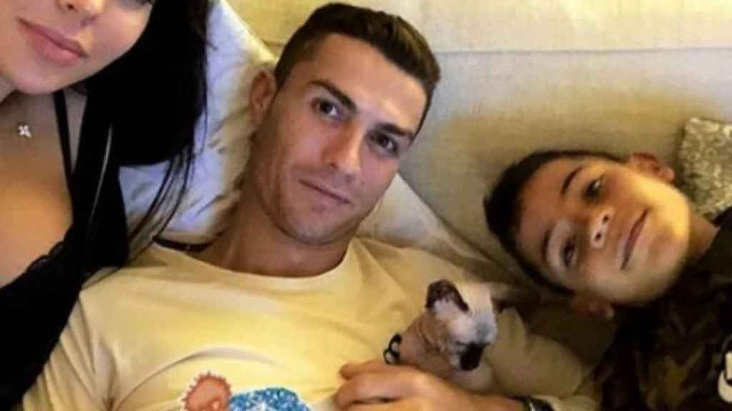 El gato de Cristiano Ronaldo. Foto Instagram:(georginagio)