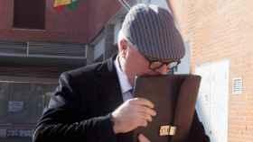 El excomisario Villarejo, tras una declaración judicial./