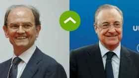 Carlos de Palacio (Talgo) y Florentino Pérez (ACS)