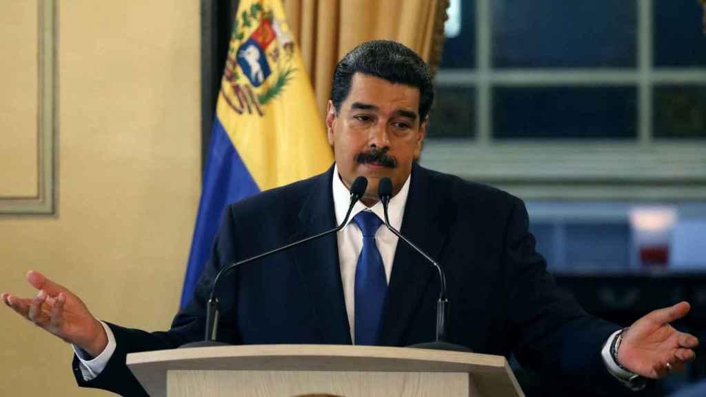 El líder chavista Nicolás Maduro.