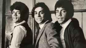 Juan, José y Enrique, el primer trío de Los Chunguitos.