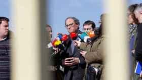 Torra visita a los presos independentistas en Madrid.