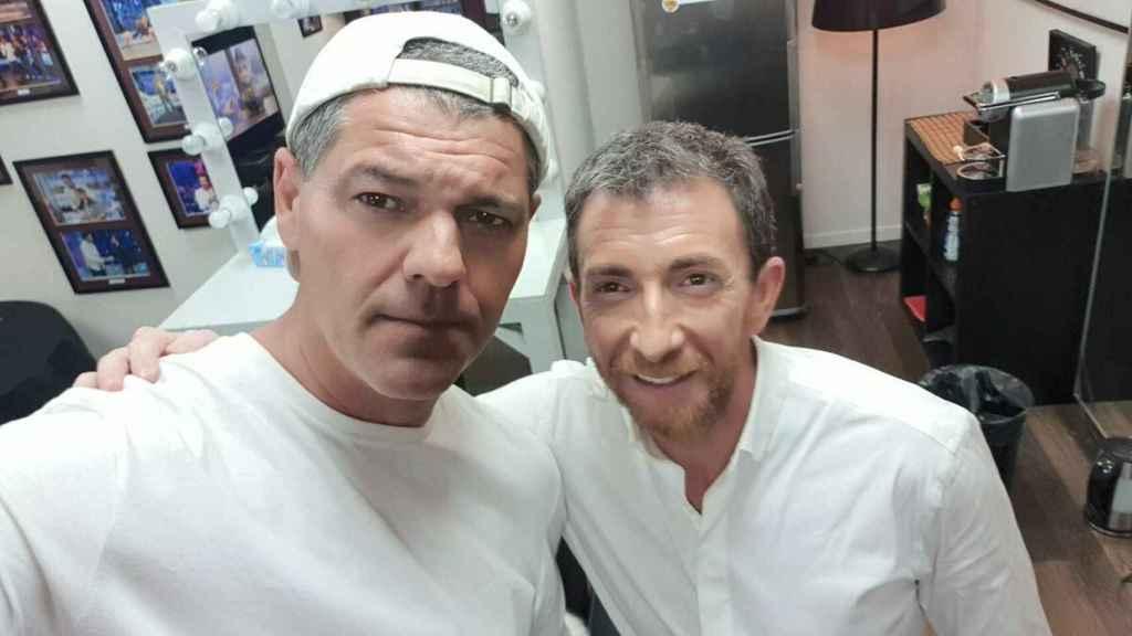 Frank de la Jungla y Pablo Motos.