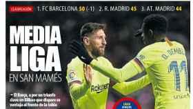 La portada del diario Mundo Deportivo (10/02/2019)