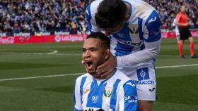 En-Nesyri, celebran uno de sus goles