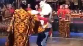 Márquez bailando 'Despacito' en Indonesia