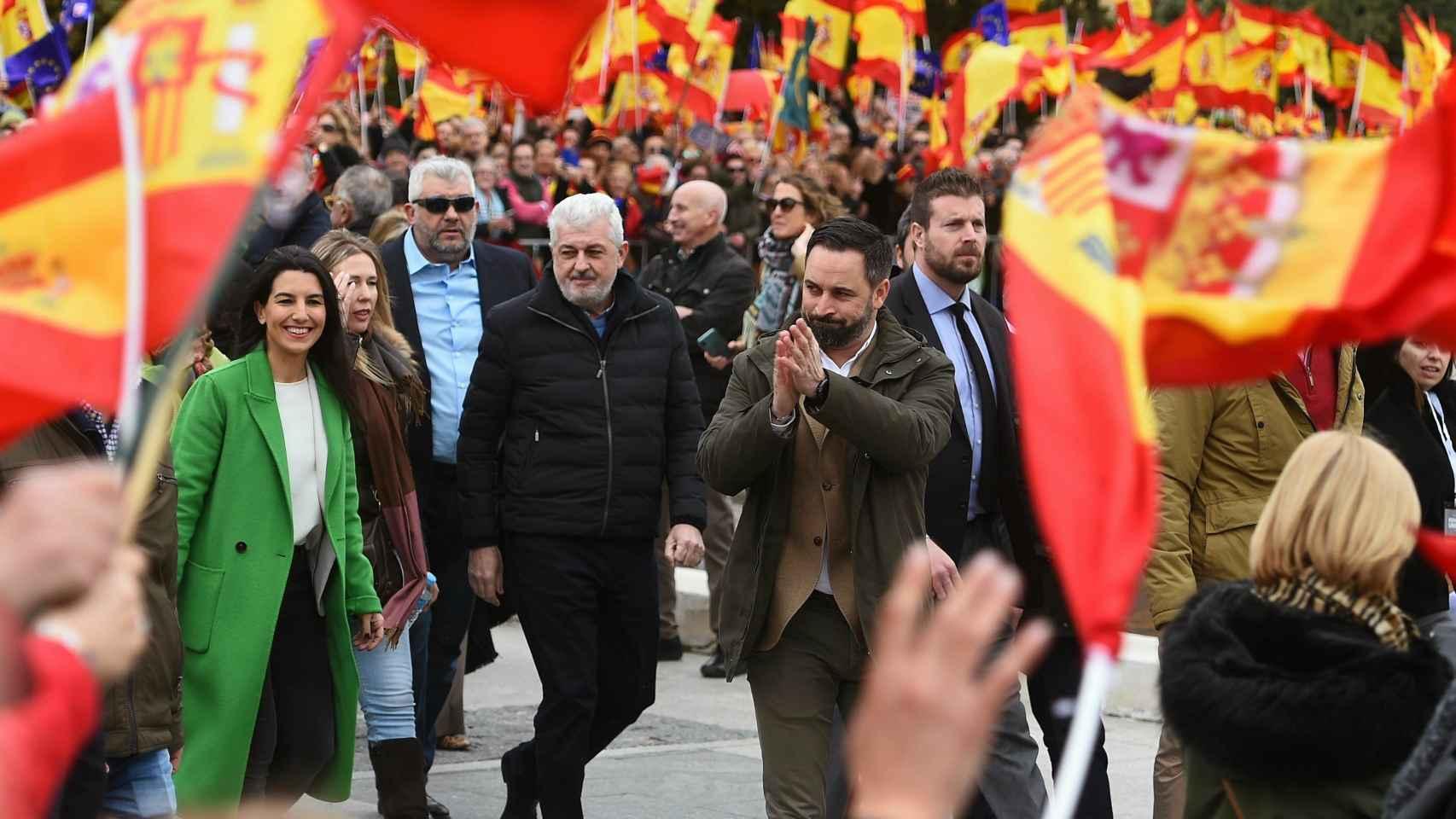 La clase política arropa la manifestación por la unidad de España