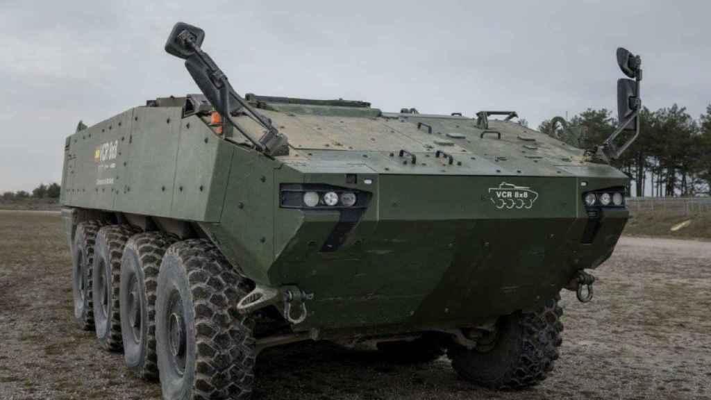 Vehículo 8x8, los nuevos dragones del Ejército de Tierra.