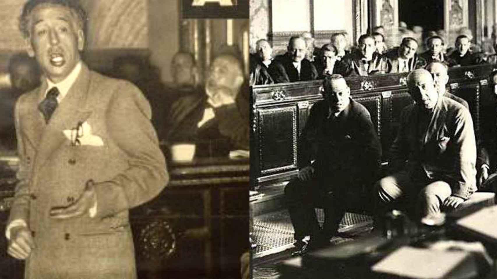 Companys y Sanjurgo, declarado en sus juicios en la Sala del Tribunal Supremo.