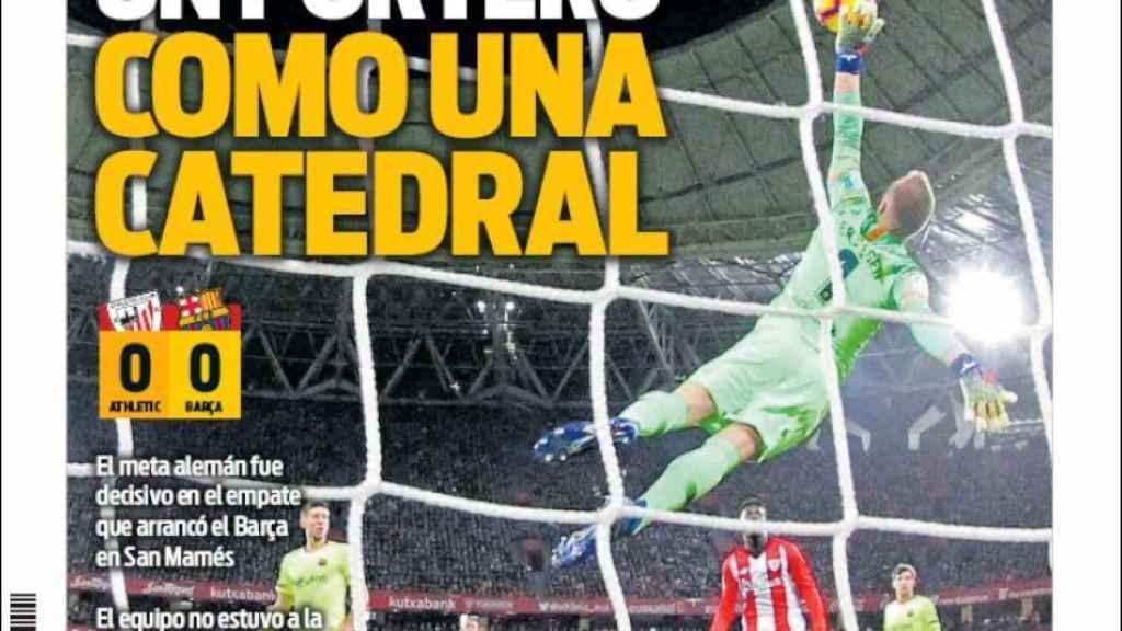La portada del diario Sport (11/02/2019)