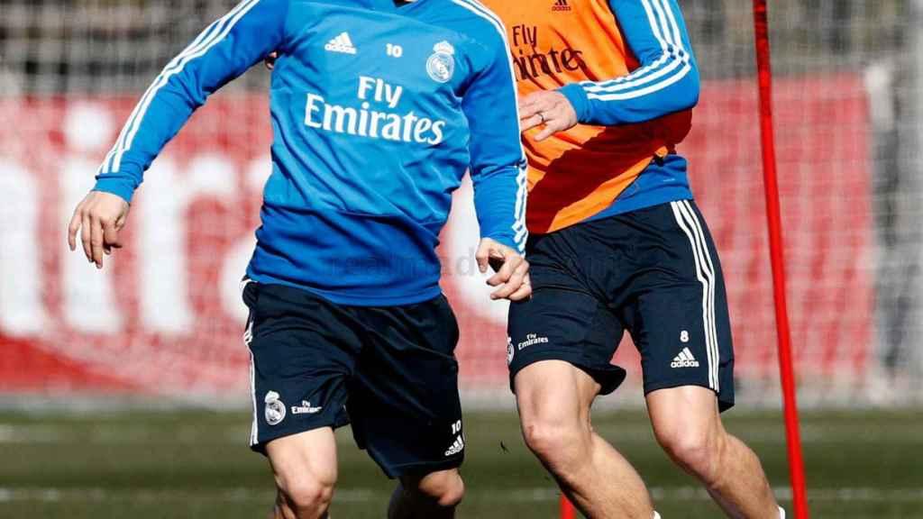 Modric y Kroos