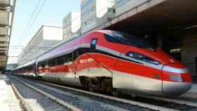 El Frecciarossa 1000, tren de alta velocidad de Trenitalia.