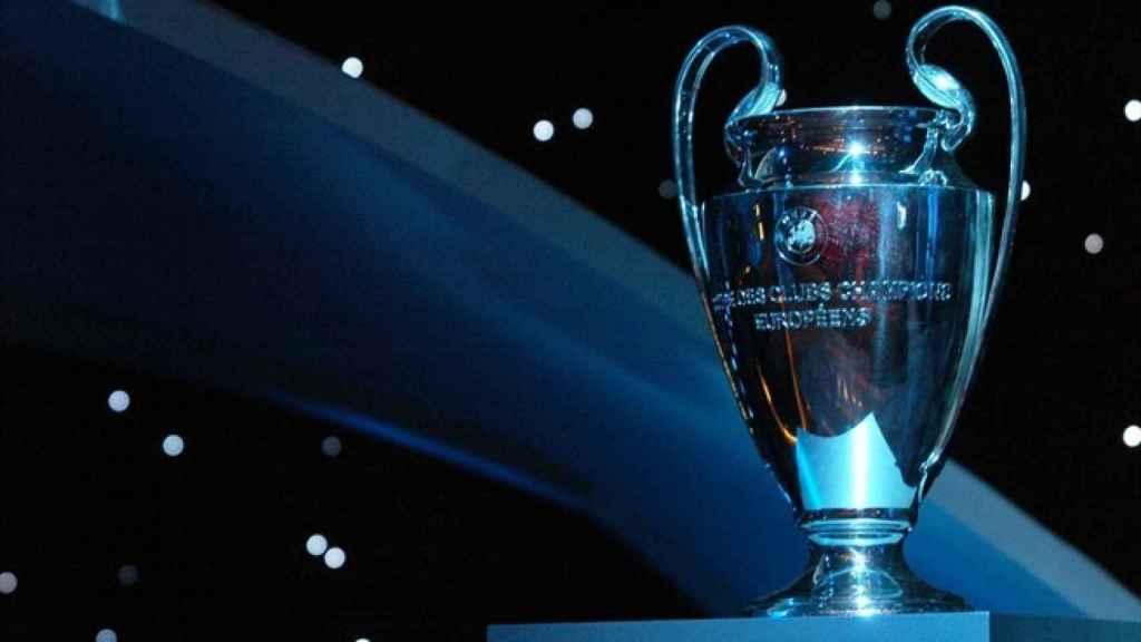 'La Orejona', copa de la Champions League. Foto: uefa.com