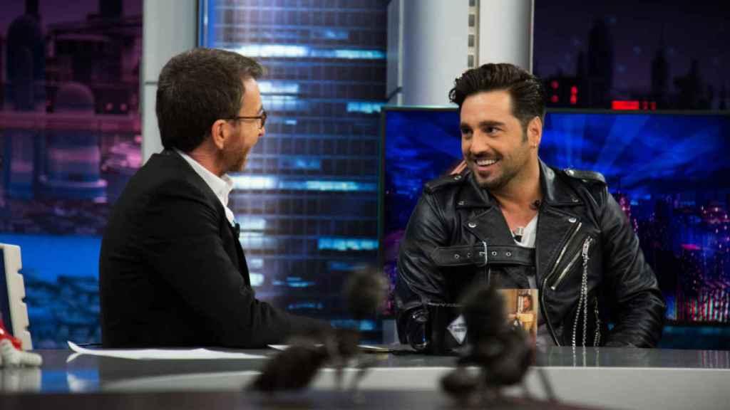 David Bustamante y Pablo Motos en 'El Hormiguero'