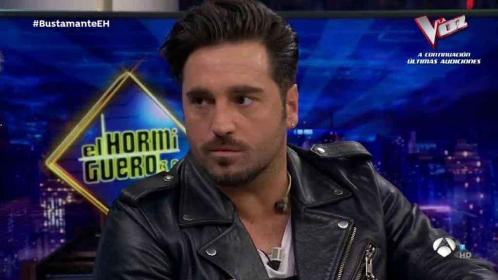 David Bustamante en 'El Hormiguero'