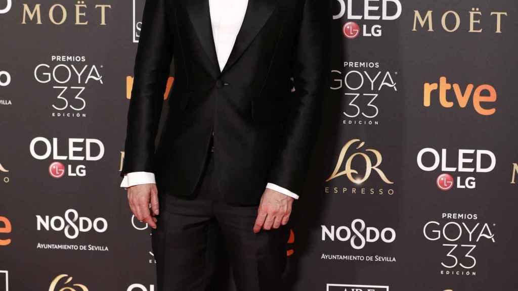 Alejandro Amenábar acudió solo a la gala de los Goya en Sevilla.