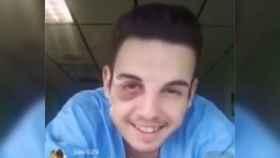 Cristian Rodríguez, en el vídeo en el que insulta a su amigo fallecido.