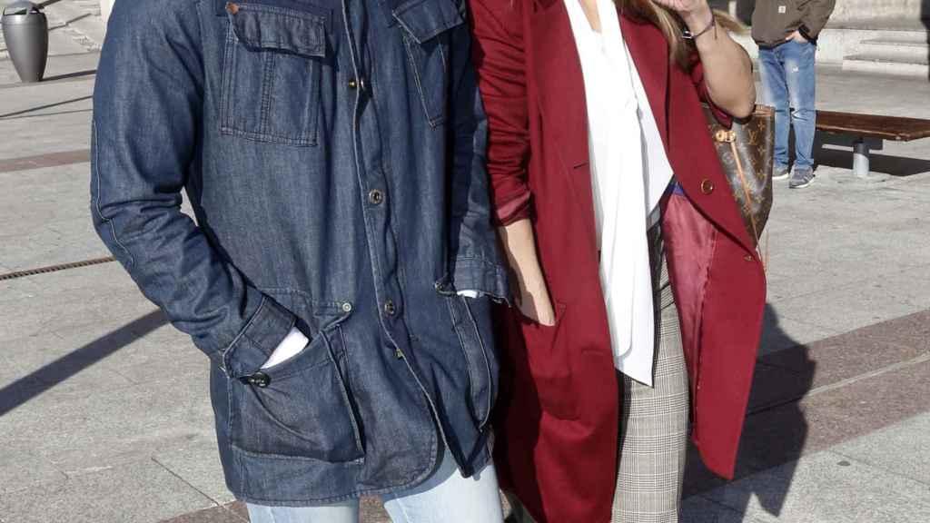 Ivonne Reyes y su hijo Alejandro.