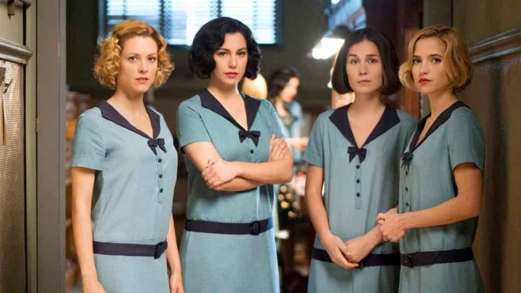 'Las chichas del cable', serie de Netflix que se puede ver en Movistar+.