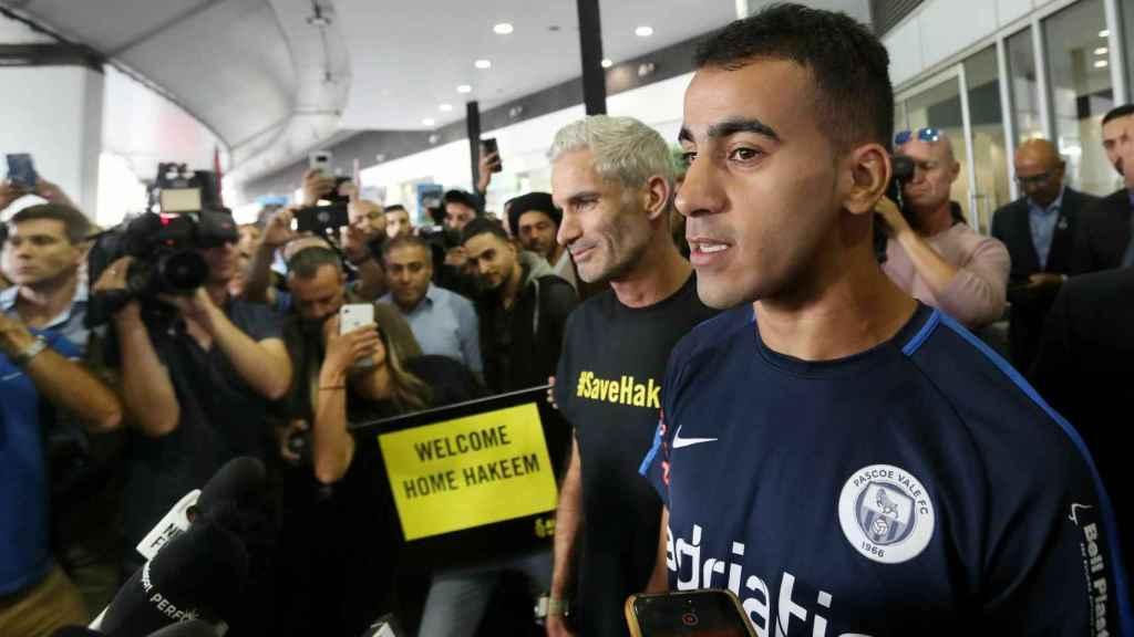 Hakeem Al Araibi termina su cautiverio y llega a Australia