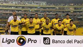 El Barcelona de Guayaquil. Foto: Twitter (@barcelonaSC)