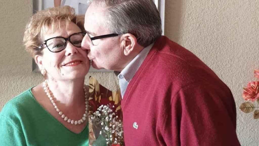 Engracia y Ángel se casaron hace 51 años.
