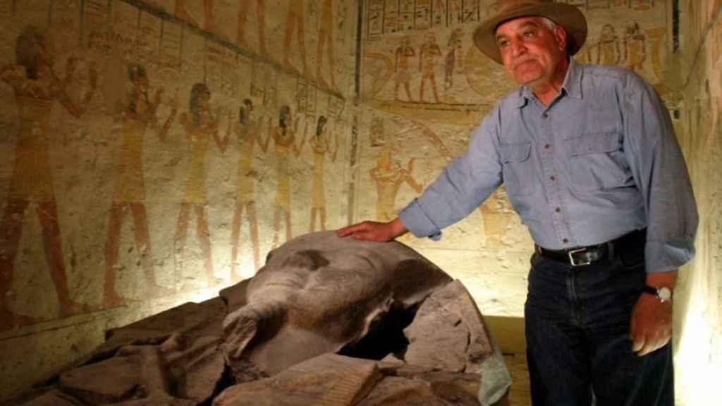 El egiptólogo Zahi Hawass, en una foto de archivo.