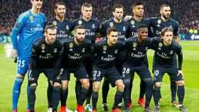 Alineación del Real Madrid frente al Ajax