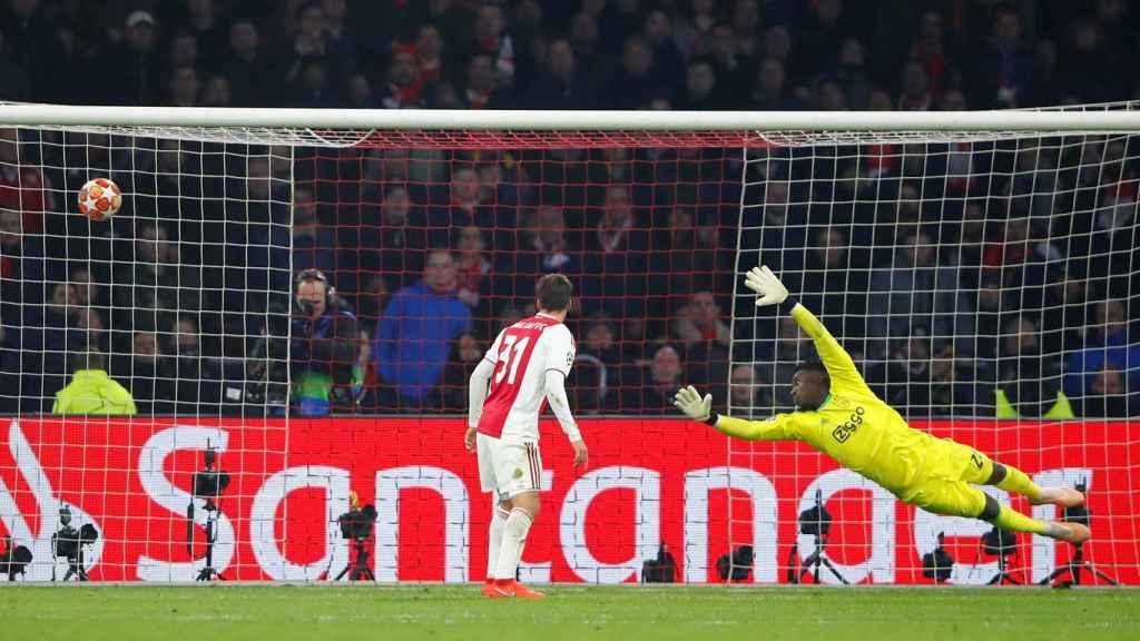 El Real Madrid se adelanta gracias a un gol de Benzema