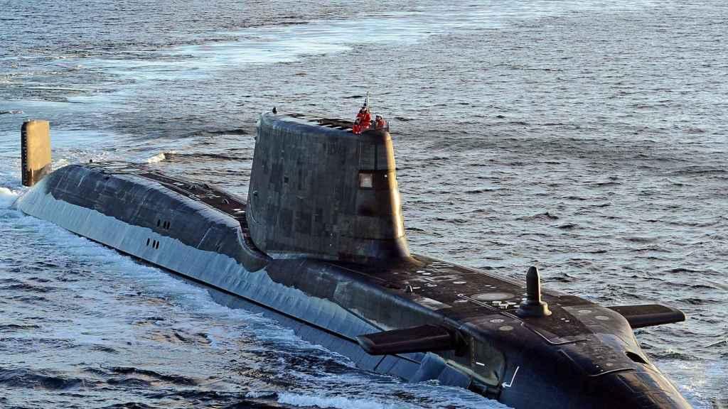 El submarino Ambush, de la Royal Navy, en una imagen de archivo.