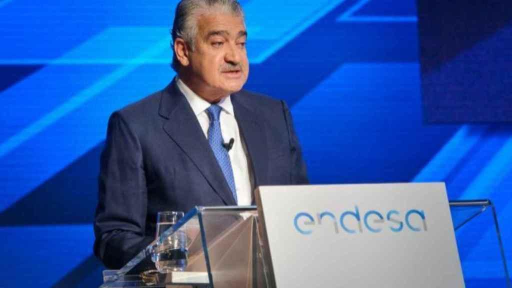 José Bogas, consejero delegado de Endesa, en una imagen de archivo.