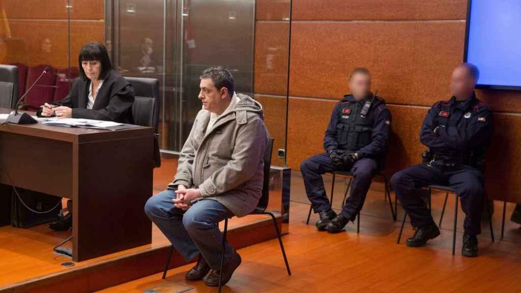 Txema, este miércoles, durante el juicio.