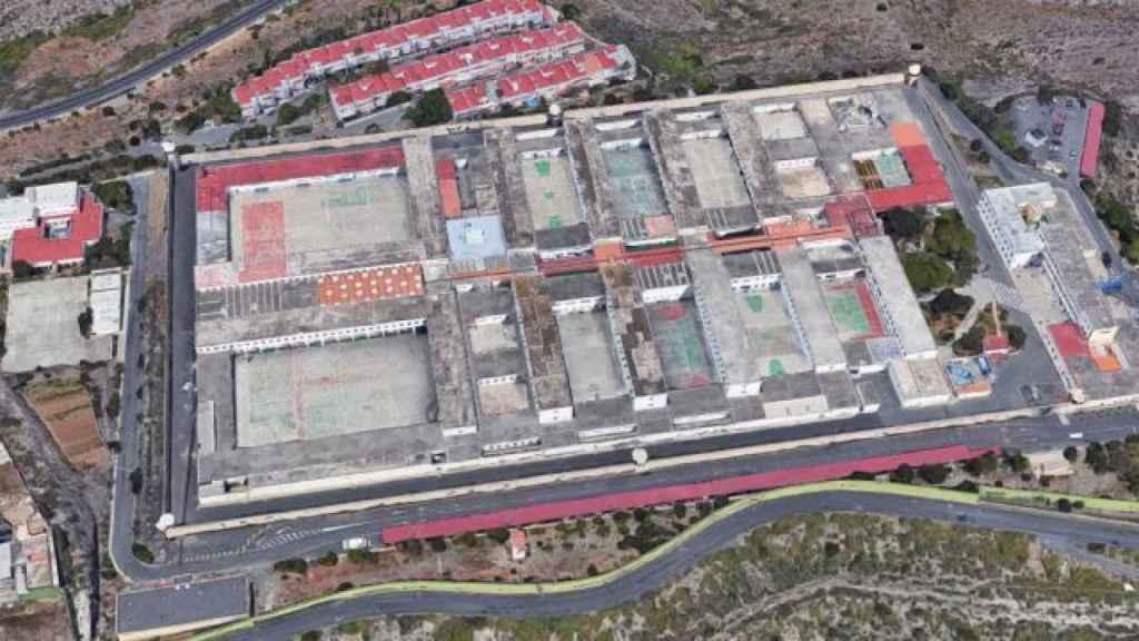 Cárcel Salto del Negro en Las Palmas.