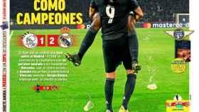 La portada del diario MARCA (14/02/2019)